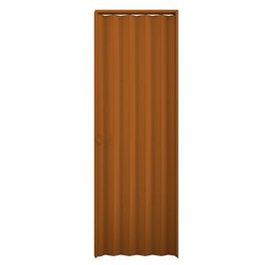 Kit de Porta Montada Sanfonada Lisa de PVC 2,10x0,90m Araforros