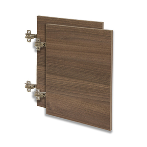 Kit de Portas para Nicho Retangular 80x40cm Nogal Infinity Spaceo