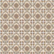 Kit de Revestimento Auto Adesivo Azulejo Marrocos Bege 20x20cm 25 peças