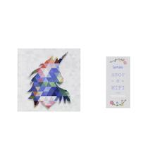 Kit de Revestimentos Decorados Swarovski com 2 peças Artens