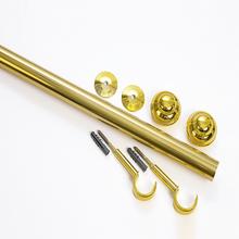 Kit de Varão Alumínio Elegance 2,00m Dourado 19mm