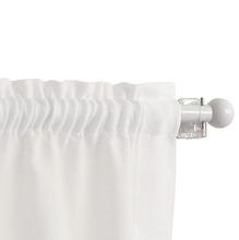 Kit de Varão Extensível Ponteira Bola Branco D10mm 0,50 a 0,85m Vedor