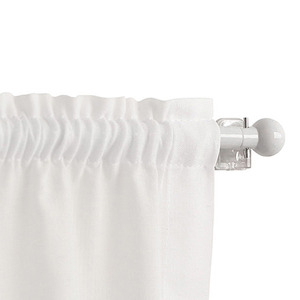 Kit de Varão Extensível Ponteira Bola Branco D10mm 0,85 a 1,50m Vedor