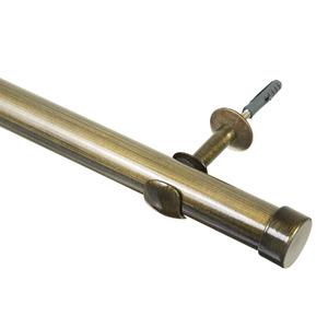 Kit de Varão Metal Ouro Velho 2m 28mm DeVictor