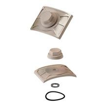 Kit de Vedação para Telha de PVC PreconVC Marfim com 20 unidades Precon