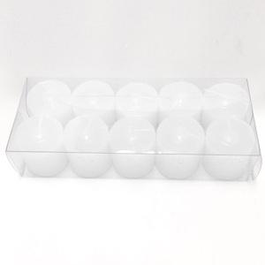 Kit de Vela Gominho Branca 3,5X3,5cm 10 Unidades