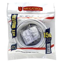 Kit Digital para Instalação de Antenas 15Metros Megatron