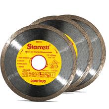 Kit discos diamantados Contínuo 3 peças - Starrett