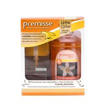 Kit Dispenser para  Sabonete Líquido e Sabonete Líquido 1L Compacta Premisse