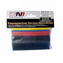 "Kit Espaguete Termo Retrátil 10 unidades de 100x16mm 5/8"""
