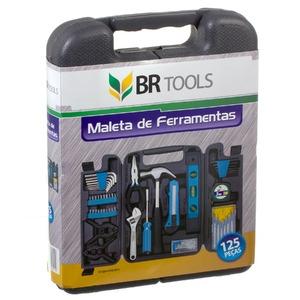 Kit Ferramentas C/ 125 Pcs Br Motors