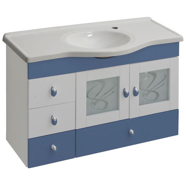 Gabinete Para Banheiro Com Espelho Magnum 53x80x365cm