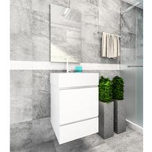 Kit Gabinete de Banheiro Versalhes 63,5x40x40cm Branco Venturi