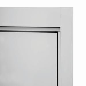 Kit Guarnição Lisa Para Portas de Alumínio 215x88x6cm Sasazaki