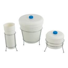 Kit Lixeira + Porta Sabão + Porta Detergente Sobre Pia Plástico Branco Arthi