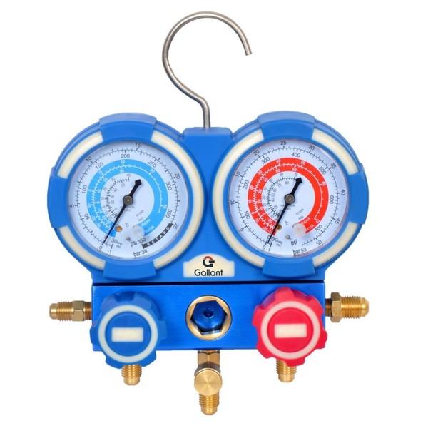 Kit Manifold Manômetros Analógicos Gallant R410A/R22/R134A