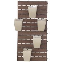 Kit para Jardim Vertical Plástico RevestWall Marrom 101,8x50,8cm