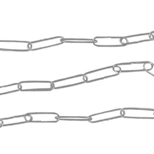 Kit para Luminária Franzmar MF29 Redondo Ferro Prata