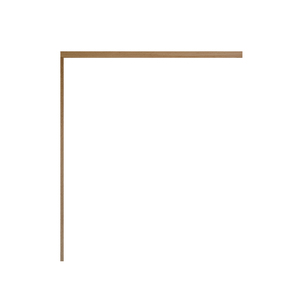 Kit para Porta de Correr de Madeira 2,10x0,90m Rondosul