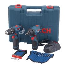 Kit Parafusadeira e Furadeira de Impacto 12V Bivolt Bosch