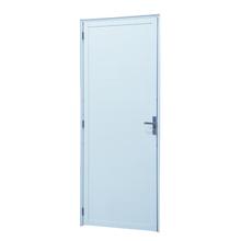 Kit de Porta Montada de Giro Lisa de Alumínio 2,10x0,70m 3A Alumínio
