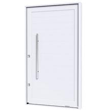 Kit de Porta Montada Pivotante Decorada de Alumínio 2,25x1,30m Lucasa Premium