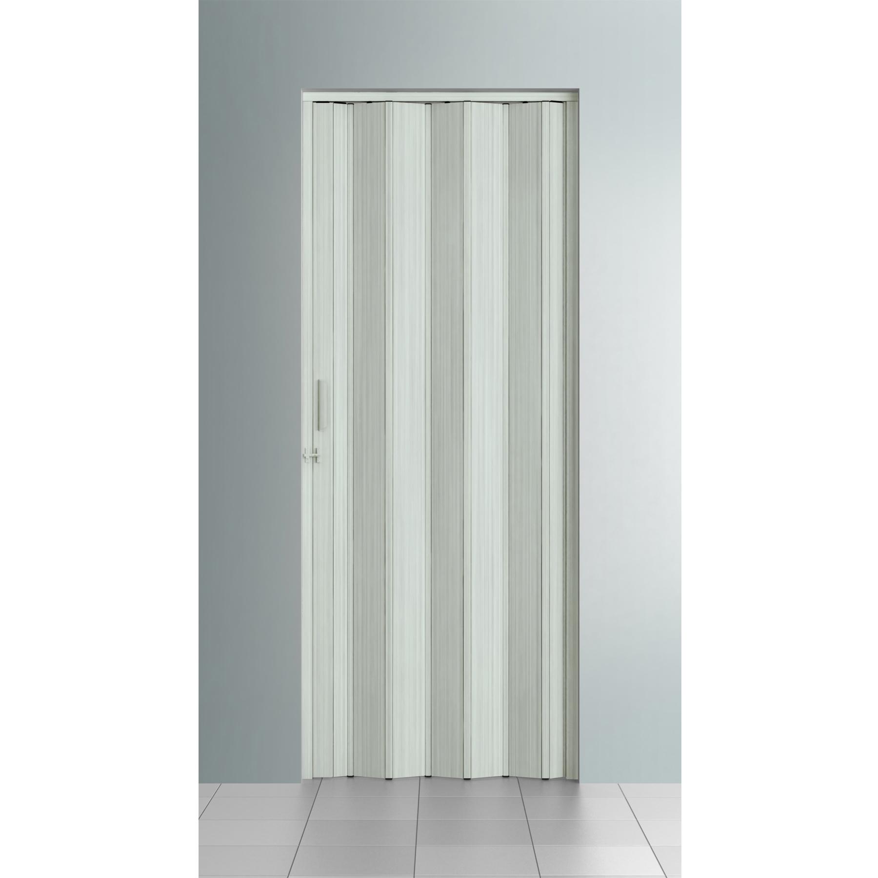 Porta sanfonada lisa pl stico pvc ambos os lados 2 1x0 6m - Porta pvc leroy merlin ...