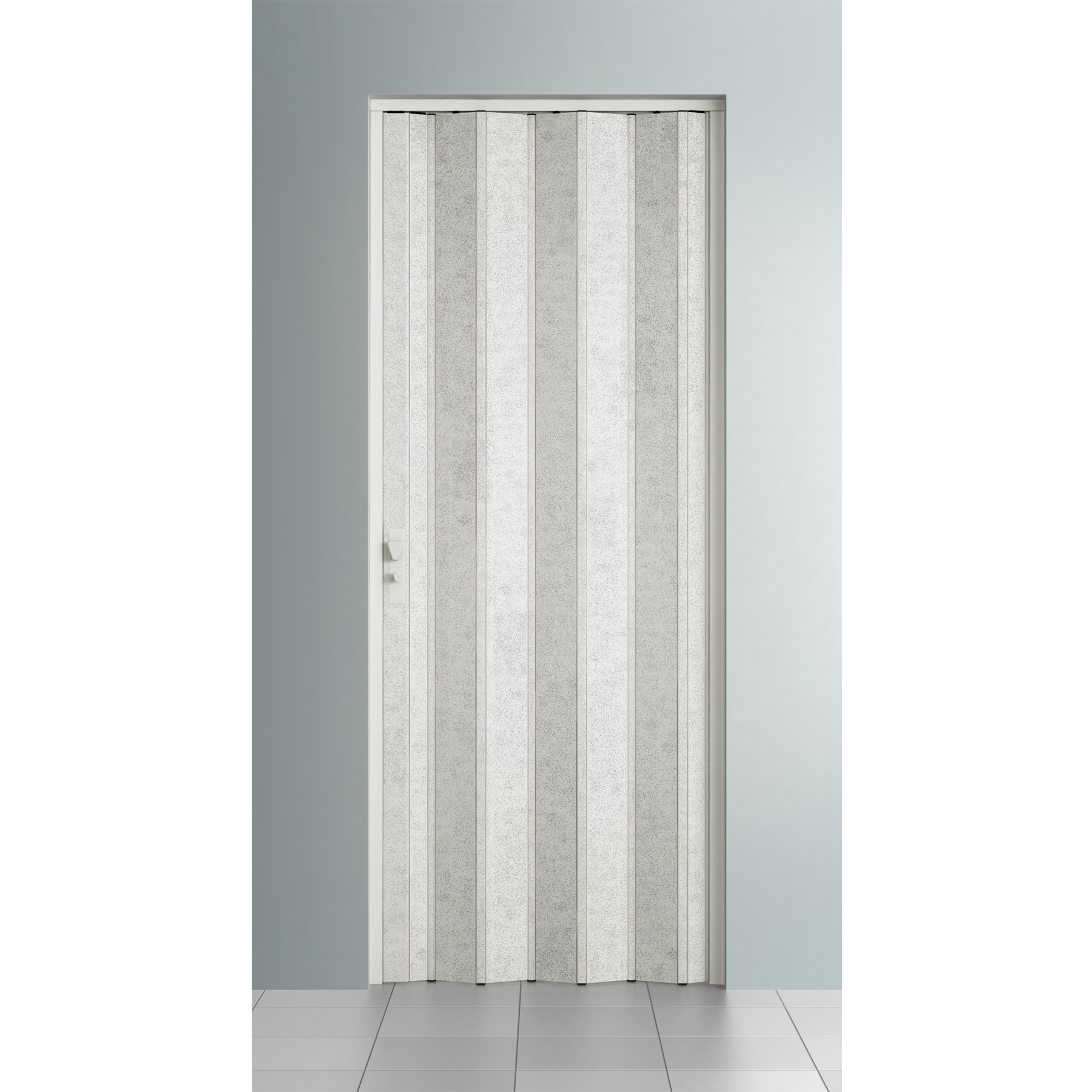 Porta sanfonada lisa pl stico pvc ambos os lados 2 1x0 96m - Porta pvc leroy merlin ...