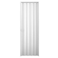 Kit de Porta Montada Sanfonada Lisa de PVC 2,10x0,60m Plasbil