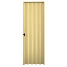 Kit de Porta Montada Sanfonada Lisa de PVC 2,10x0,80m Plasbil