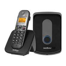 Kit Porteiro Eletronico e Telefone sem Fio Preto IPR5110 Intelbras