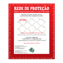 Kit Rede Proteção Branca 3,5x7m