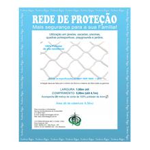 Kit Rede Proteção Preta 1,6x5m