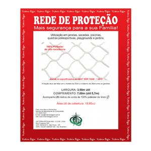 Kit Rede Proteção Preta 3,5x7m