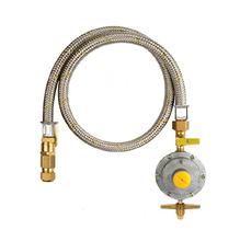 """Kit Regulador de Gás 3/8"""" 100cm Jackwal"""