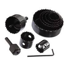 Kit Serra Copo Profissional Aço Carbono Encaixe Semi Cilíndrico Diâmetro 11 cm 11 peças Bosch