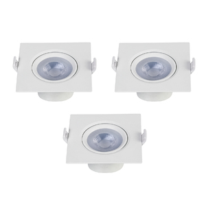 Kit Spot de Embutir LED Luz Branca 5W Inspire