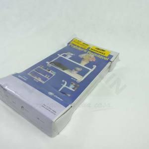 Kit Tubular Branca 47x42x1,5cm Utilfer