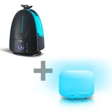 Kit Umidificador Digital Breath Ion + Multi Lamp
