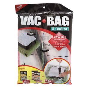 Kit Vac Bag (1 Méd + 2 Gr) + 1 Bomba