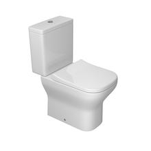 Kit Vaso Sanitário com Caixa Acoplada 3/6L Saída Vertical Axis Branco Deca