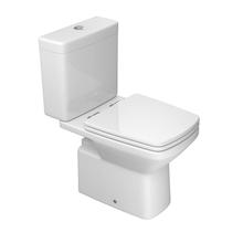 Kit Vaso Sanitário com Caixa Acoplada 3/6L Saída Vertical Clean Branco Deca