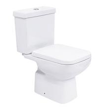 Kit Vaso Sanitário com Caixa Acoplada 3/6L Saída Vertical Lyon Branco Sensea