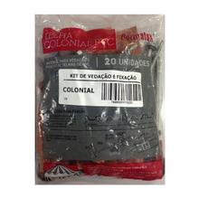 Kit Vedação e Fixação para Telhas de PVC Colonial Permatex