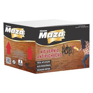 Kit Verniz Antipichação 3,6L Maza