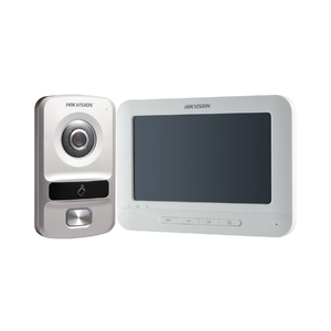 Kit Vídeo Porteiro WIFI DS-KIS601 Hikvision