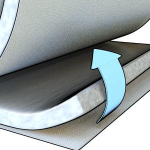 Lã de Pet Telha Flex Forro Residencial IB40 Trisoft