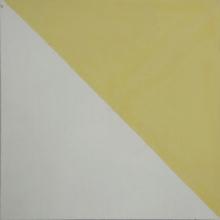 Ladrilho Hidráulico Decorativo Bandeira Amarelo Claro 20x20cm Cimartex