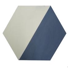 Ladrilho Hidráulico Decorativo Hexagonal Azul 20x20cm Cimartex