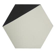 Ladrilho Hidráulico Decorativo Hexagonal Branco 20x20cm Cimartex